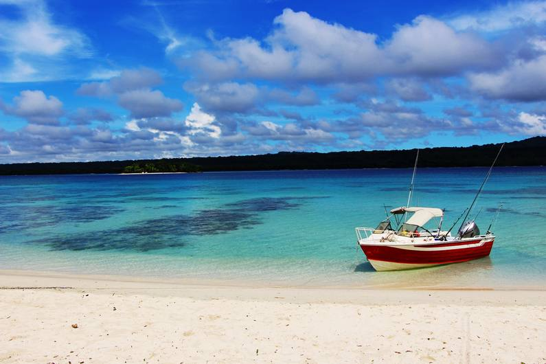 Deco Diva boat - Fishing Deco Stop Lodge Espiritu Santo Vanuatu