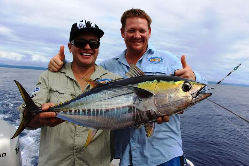 Happy Anglers Fishing Deco Stop Lodge Espiritu Santo Vanuatu