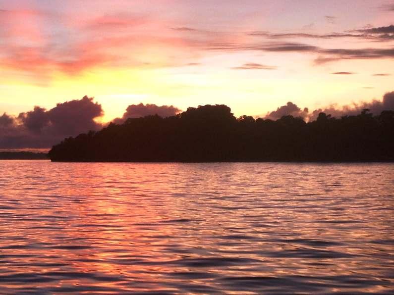 Early morning out on the water Fishing Deco Stop Lodge Espiritu Santo Vanuatu