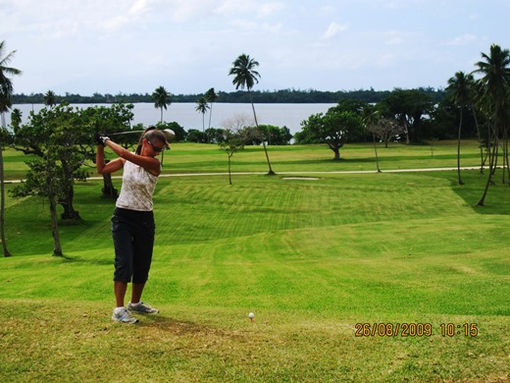 Golf Deco Stop Lodge Espiritu Santo Vanuatu