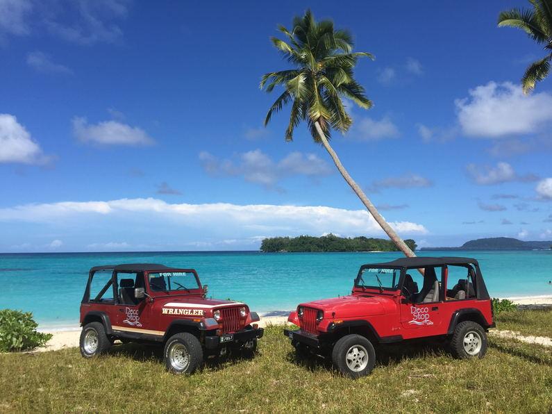 Jeep Wranglers for hire, Deco Stop Lodge, Vanuatu