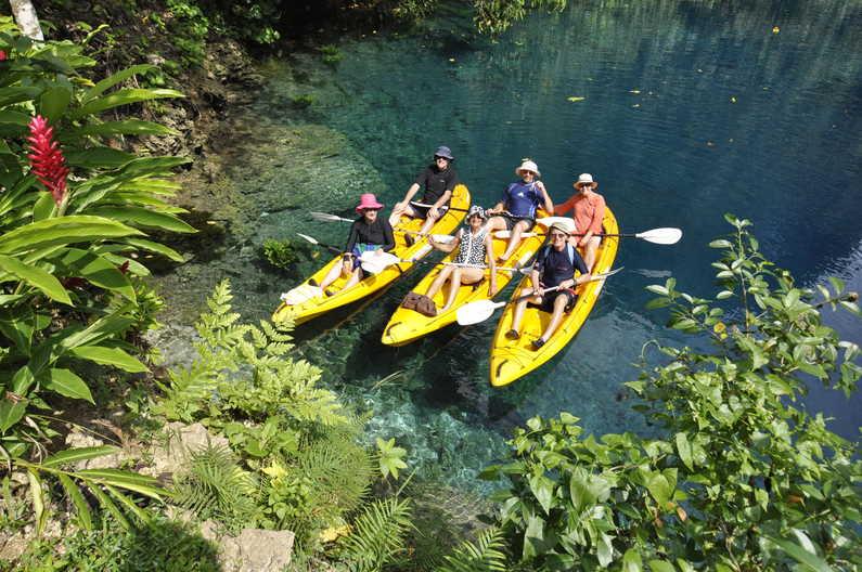 Espiritu Santo is called the Adventure Island for a very good reason