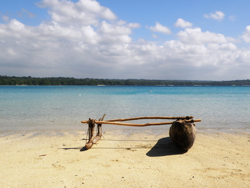 Paddle a local Dugout canoe down the Riri River in Vanuatu