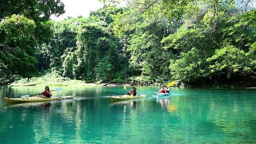 Island Time Kayaking Guided tour Vanuatu