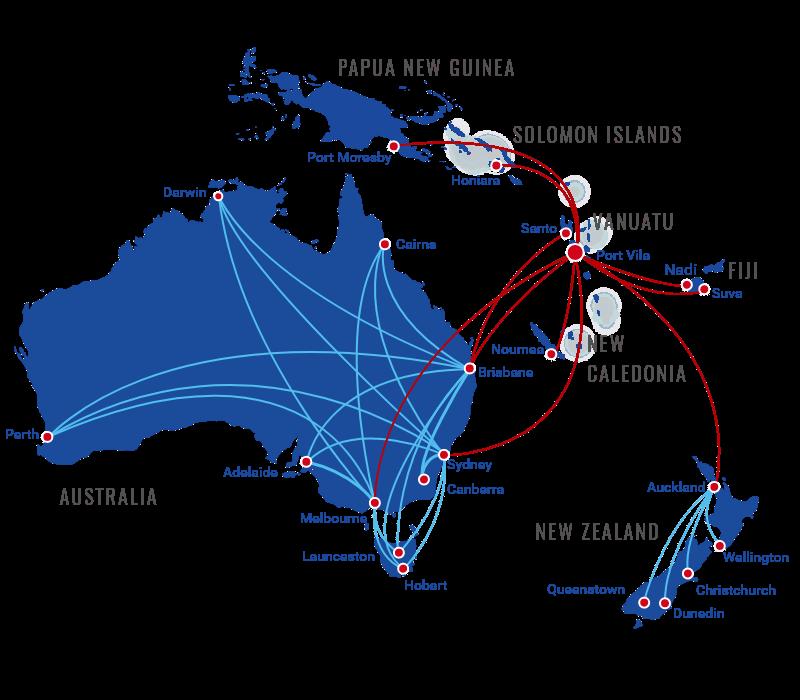 Flights to Espiritu Santo, Vanuatu