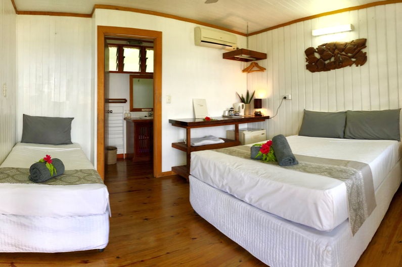Superior Double Room at Deco Stop Lodge – There are two beds in the room
